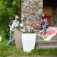 Напольное кашпо для цветов в Якутске